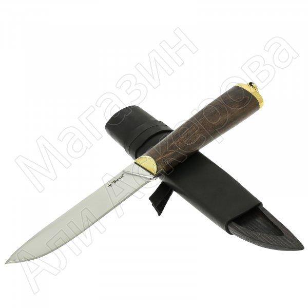 Разделочный нож Бичак (сталь 65Х13, рукоять граб)