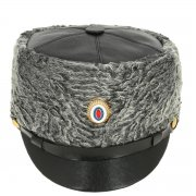 Офицерская шапка из каракуля (афганка) арт.11824