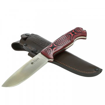 Нож Ural Kizlyar Supreme (сталь Sleipner Satin, рукоять G10)
