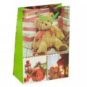"""Подарочный пакет """"Новогодний"""" маленький арт.10605"""