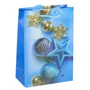 """Подарочный пакет """"Новогодний"""" маленький арт.10606"""