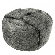 Мужская каракулевая шапка ручной работы (сорт - афганка) арт.8369