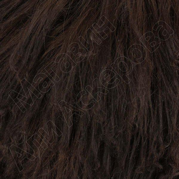 Кавказская папаха коричневая из натуральной овчины арт.5024