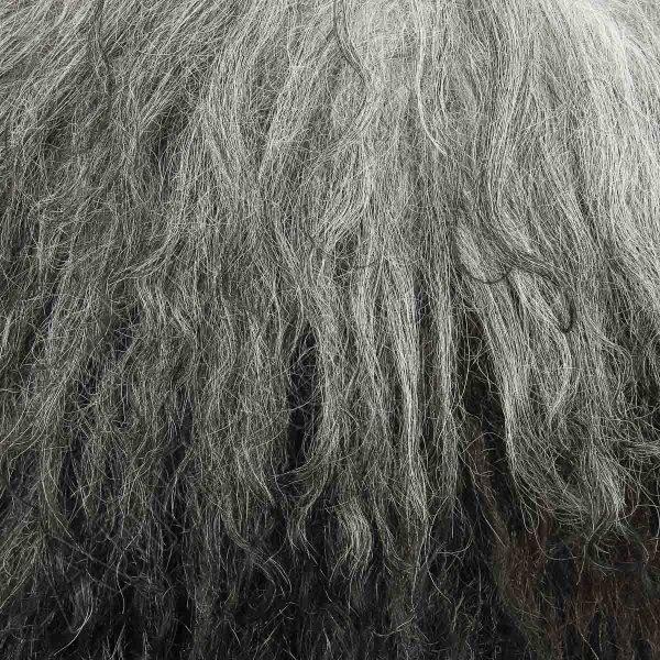 Кавказская папаха серая из натуральной овчины