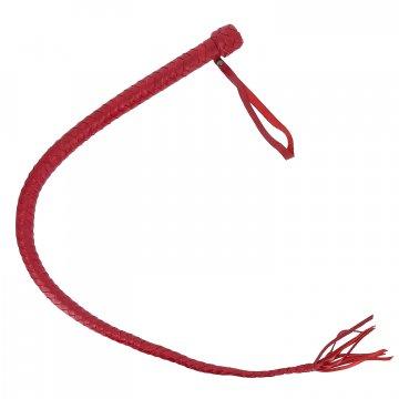 Плетка Красная Змея (натуральная кожа)