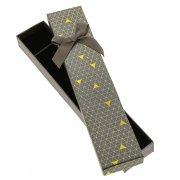 Подарочная коробочка Треугольники для (цепочки, браслета)