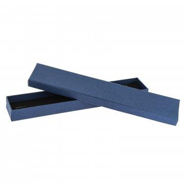 Подарочная коробочка синяя (4х21х2)