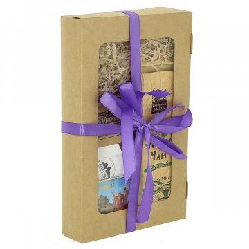 """Подарочный продуктовый набор в коробке """"Подарочный М"""""""