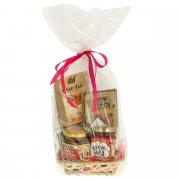 """Подарочный продуктовый набор в корзинке """"Подарочный L"""" арт.10863"""