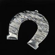 Кубачинская серебряная подкова ручной работы малая арт.8998