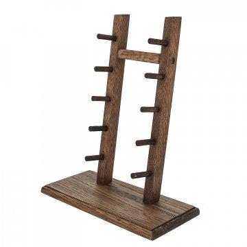 Деревянная подставка для ножей (дуб)