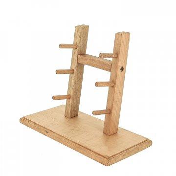 Деревянная подставка для ножей (бук)