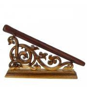 Деревянная подставка для дудука (резная) арт.9065