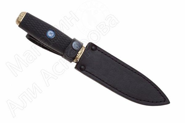 Нож Рубеж-2 Кизляр (сталь AUS-8, рукоять эластрон)