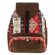 Рюкзак в этно стиле из ткани ручной работы арт.10251