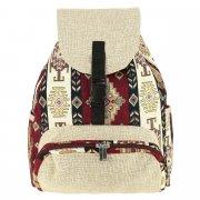 Рюкзак в этно стиле из ткани ручной работы арт.10252