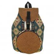 Рюкзак в этно стиле из ткани ручной работы арт.9126