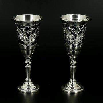 Серебряные рюмки (2 персоны)