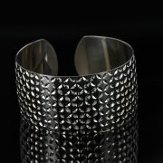Серебряный кубачинский браслет с чернением арт.11161