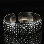 Серебряный кубачинский браслет с чернением арт.11165