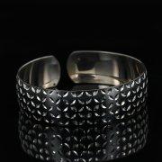 Серебряный кубачинский браслет с чернением арт.11168