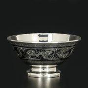 Серебряная пиала Кубачи ручной работы арт.11626