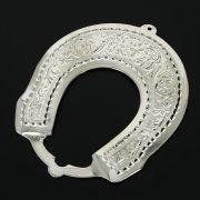 Кубачинская серебряная подкова ручной работы малая арт.10989