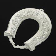 Кубачинская серебряная подкова ручной работы малая арт.10991