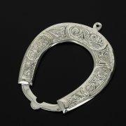 Кубачинская серебряная подкова ручной работы малая арт.11001