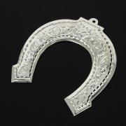 Кубачинская серебряная подкова ручной работы малая арт.11007