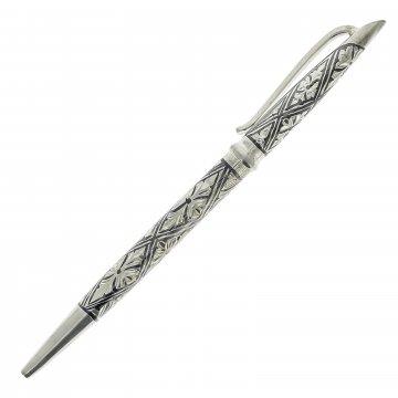 Серебряная ручка в футляре