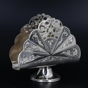 Серебряная салфетница