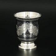 Серебряная стопка Кубачи ручной работы арт.11341