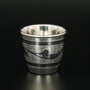 Серебряная стопка Кубачи ручной работы арт.11342