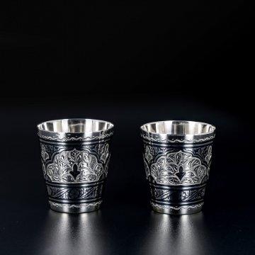 Серебряные стопки (2 персоны)