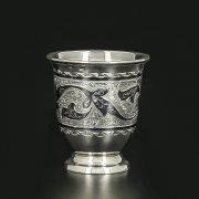 Серебряная стопка Кубачи ручной работы арт.11654