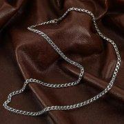 Серебряная цепь Бисмарк 65 см (ширина 0,45 см) арт.12342