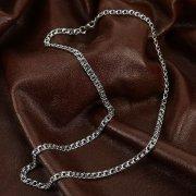Серебряная цепь Бисмарк 55 см (ширина 0,4 см) арт.12347