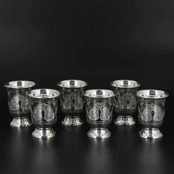 Серебряные стопки (6 персон)
