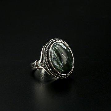 Серебряное кольцо (клинохлор)