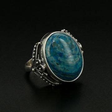 Серебряное кольцо (оникс)