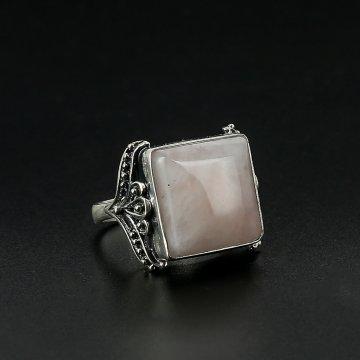 Серебряное кольцо (кварц)