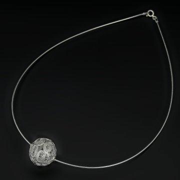 Серебряное колье Стиль