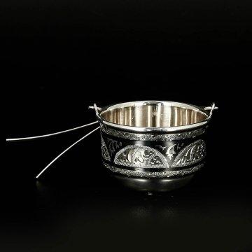 Серебряное сито для чая