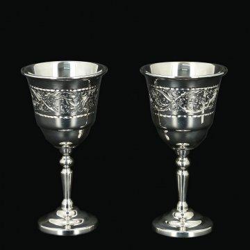 Серебряные рюмки Кубачи (2 персоны)