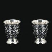 Серебряные стопки Кубачи (2 персоны)