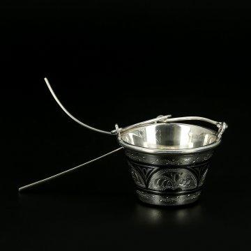 Серебряное ситечко для чая