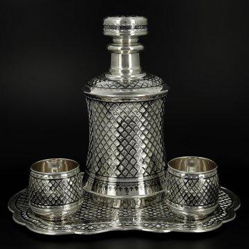 Эксклюзивный серебряный набор Престиж