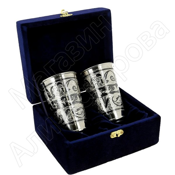 Серебряные стаканы (180 мл)