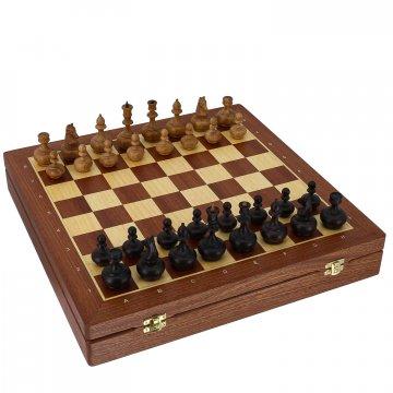 Шахматы резные (махагон)